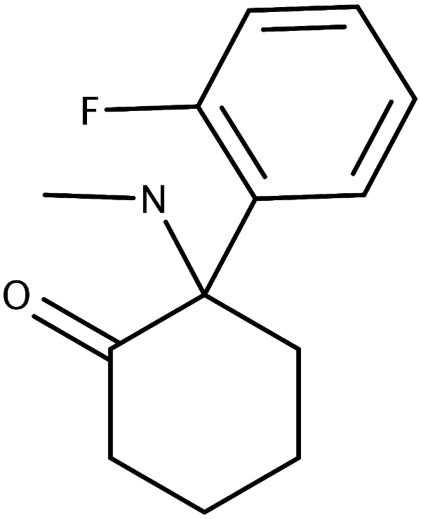 Chemical structure of 2FDCK