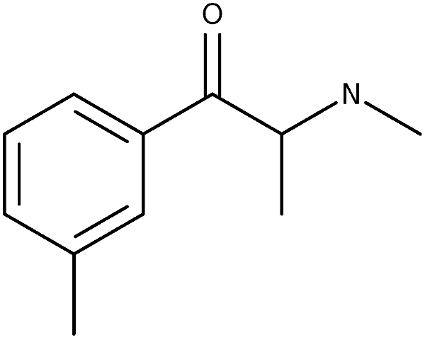 Chemical structure of 3MMC