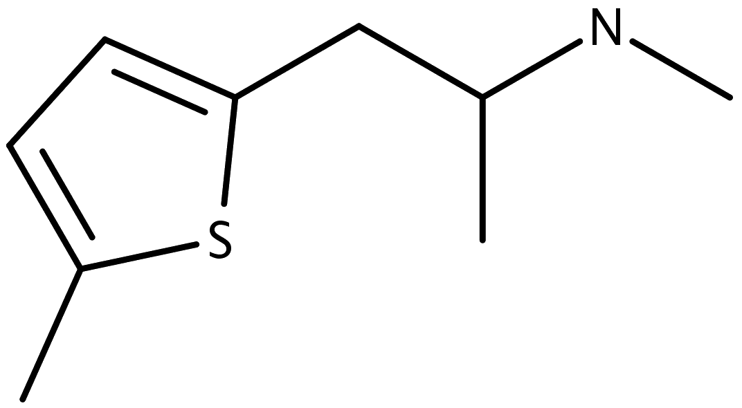 Chemical structure of Mephedrene